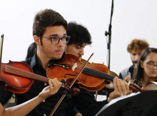 Miqueias Felipe - Estudante do sexto semestre de Música